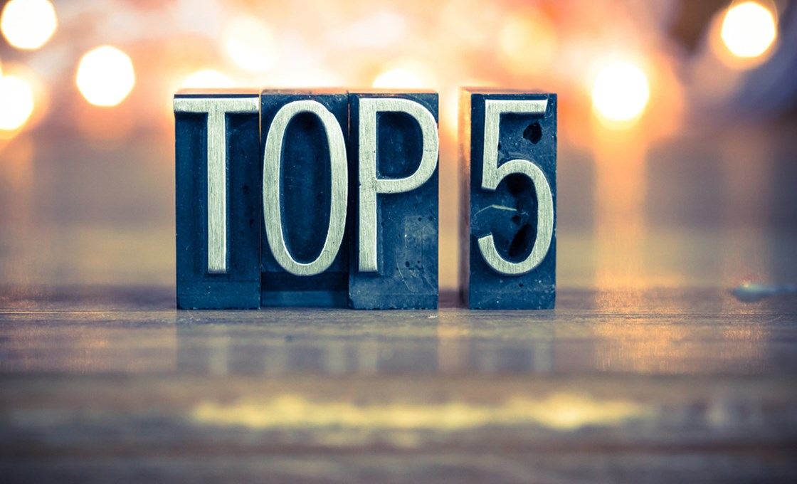 Top 5 Insight Programme Picks