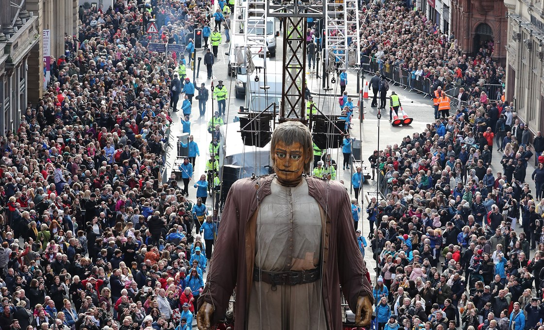 Latest Webinar - Giant Spectacular Liverpool's Dream